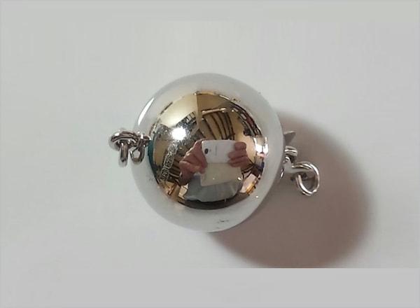 Plain polished ball