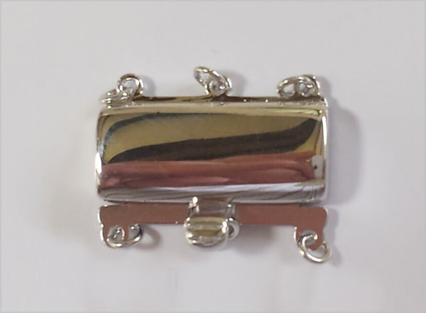 Silver clasp